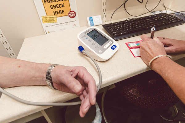 Blood Pressure Monitoring at the Berry Pharmacy